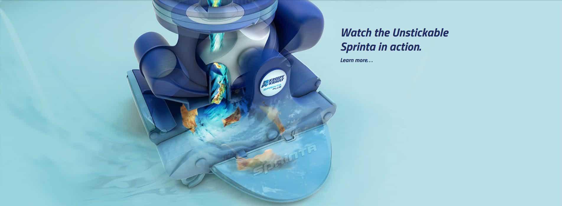 Sprinta Plus Pool Cleaner Australia Banner