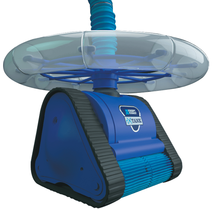 up close rx tank robotic pool cleaner