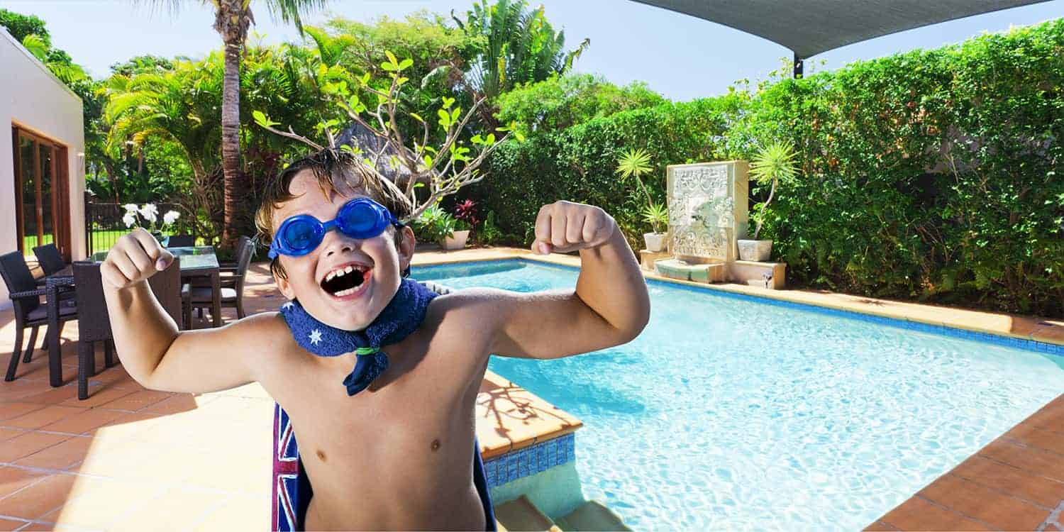 family friendly pool cleaners by kreepy krauly!
